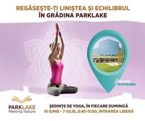 Vara incepe cu sport, la ParkLake Shopping Center!