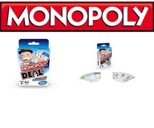 Monopoly Deal, cel mai rapid joc al tranzactiilor imobiliare se lanseaza in Romania. Se joaca in doar 15 minute!