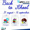 AFI Palace Cotroceni a prelungit targul scolar pana pe 16 septembrie