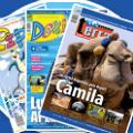 Au aparut revistele de mai Terra Magazin, Doxi si Pipo!
