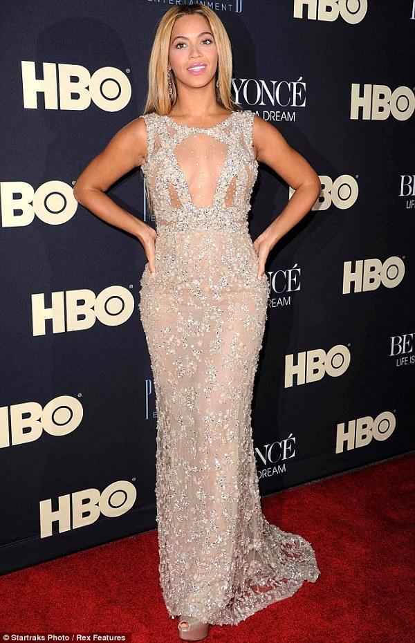 Beyonce la premiera documentarului 'Life is but a dream'