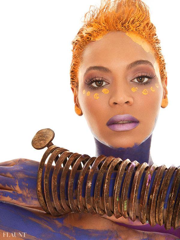 Beyonce, pictorial pentru revista Flaunt 2013