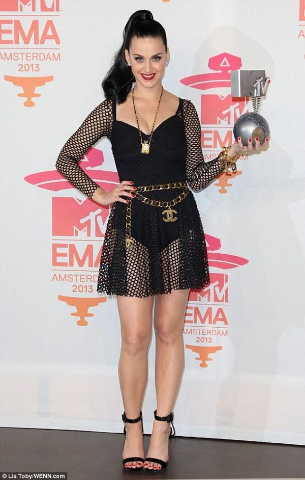 Katy Perry - Best Female la Mtv EMA 2013