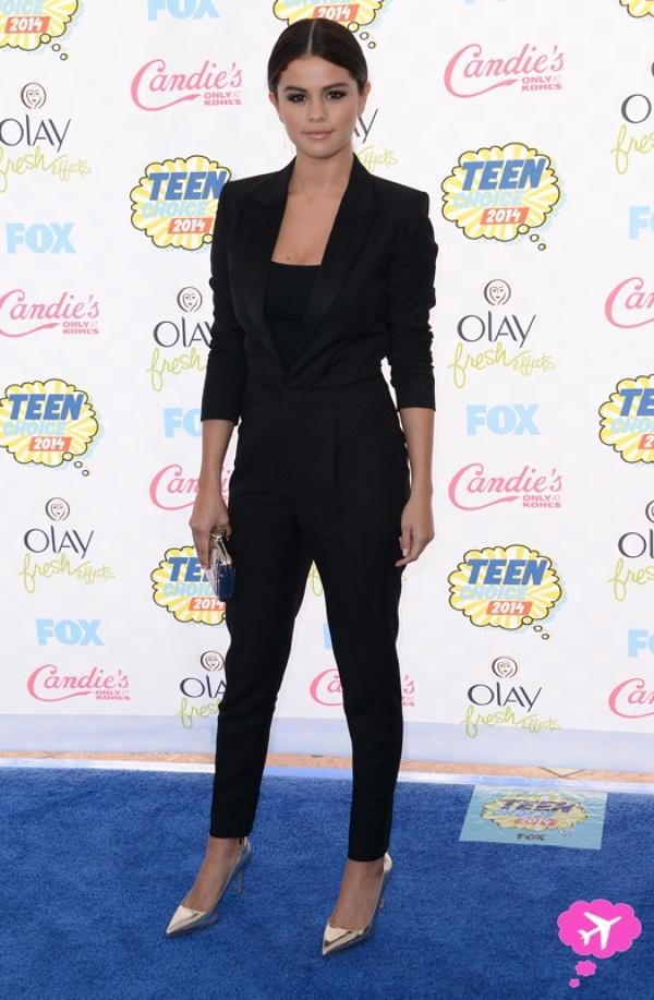 Selena Gomez la premiile Teen Choice 2014