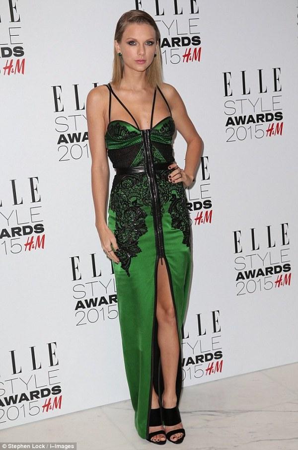 Taylor Swift la premiile Elle 2015