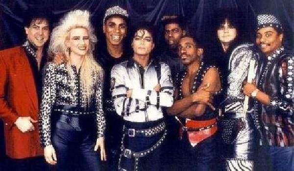 "Michael Jackson in era ""Bad"""