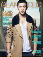David Henrie pe coperta revistei Glamoholic