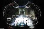 Beyonce pe scena Superbowl