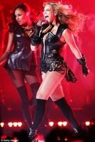 Beyonce a cantat la Superbowl 2013