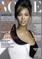 Beyonce pe coperta revistei Vogue