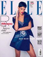 Rihanna pe coperta revistei Elle