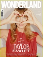 Taylor Swift pe coperta revistei Wonderland