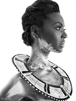 Beyonce a pozat pentru revista Flaunt 2013