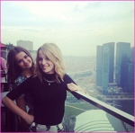 Maia si Bridgit in Singapore