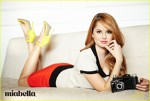 Revista Miabella - pictorial Debby Ryan