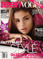 Selena Gomez pe coperta revistei Teen Vogue