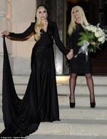 Lady Gaga si Donatella Versace