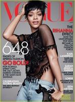 Rihanna pe coperta revistei Vogue