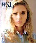 Scarlett Johansson pe coperta revistei WSJ