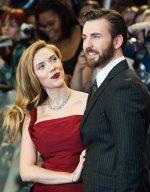 Scarlett Johansson si Chris Evans