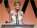 Jennifer Lawrence pe scena SAG Awards