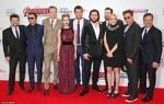 Chris Evans si colegii sai din Avengers: Age of Ultron