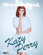 Katy Perry pe coperta revistei Wonderland