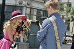 Sharpay Evans si Boi in fata fotografului