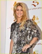 Shakira la lansarea parfumului ei