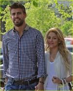 Shakira si iubitul ei Gerard Pique