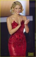 Shakira la decernarea Balonului de Aur