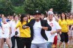 Alex Velea a organizat cel mai mare flashmob din Romania