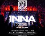 INNA deschide festivalul UNTOLD printr-un super show pe Cluj Arena
