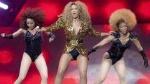 Beyonce a facut senzatie la festivalul Glastonbury