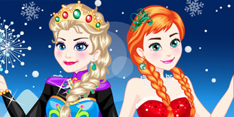 Frozen Elsa si Anna