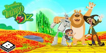 Recunoaste personajele din Dorothy si vrajitorul din Oz!
