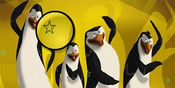 Pinguinii din Madagascar Cauta Stelute