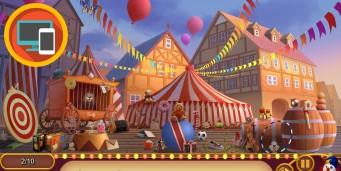 Gaseste obiectele de la circ