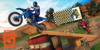 Curse 3D pe motocicleta