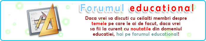 Forumul Ecucational