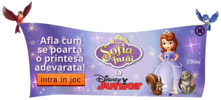 Urmareste Sofia Intai la Disney Junior