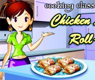 Chicken Lasagna Roll-Ups