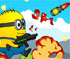 Crash Minions Rockets Zombies