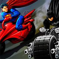 Heroes Ride Batman v Superman