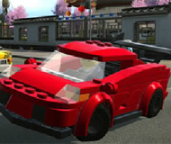 Lego Car Driving Puzzle