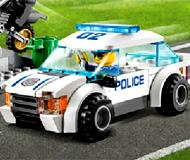 Lego Polce Car Puzzle