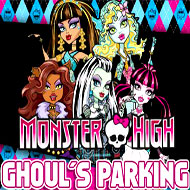 Monster High Ghoul's Parking