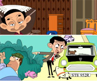 Mr. Bean 8 Differences