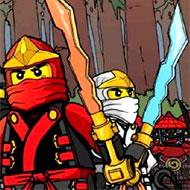 Ninjago Monsters Forest