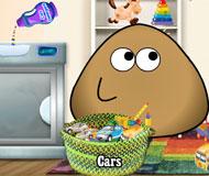 Pou Washing Toys